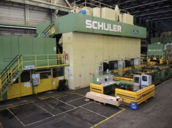 1 - Schuler  TSB-2200-6-1200  Tri-Axis Transfer Press