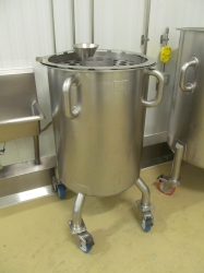 1 -    65 Gallon Portable Stainless Steel Kettle