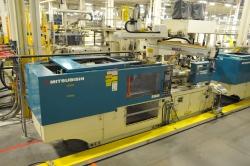 1 - Mitsubishi  270MSJ-17  264-US Ton 16.3-Oz Injection Molding Machine
